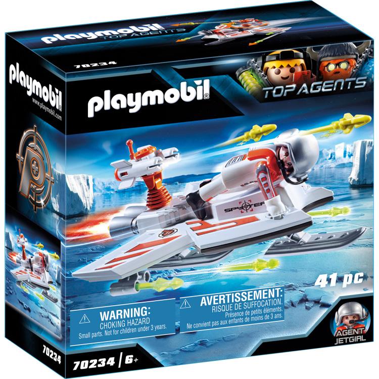 PLAYMOBIL Top Agents - Spy Team piloot 70234