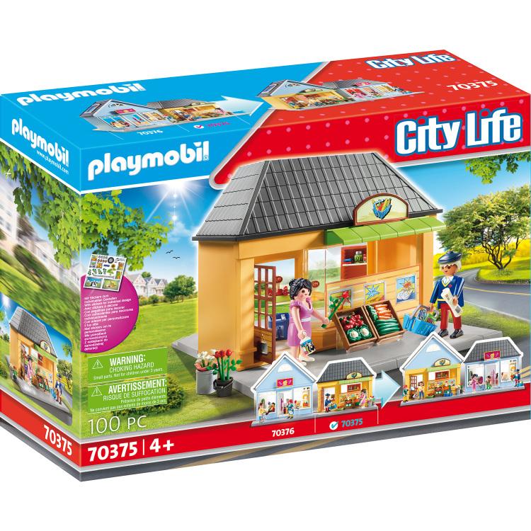 PLAYMOBIL City Life - Mijn kruidenier 70375