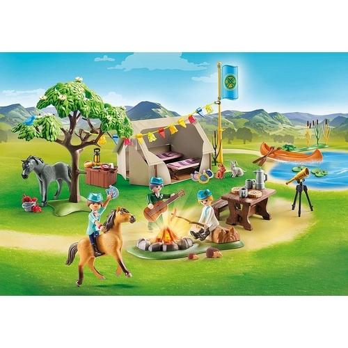 PLAYMOBIL Spirit Riding Free - Paardenkamp 70329
