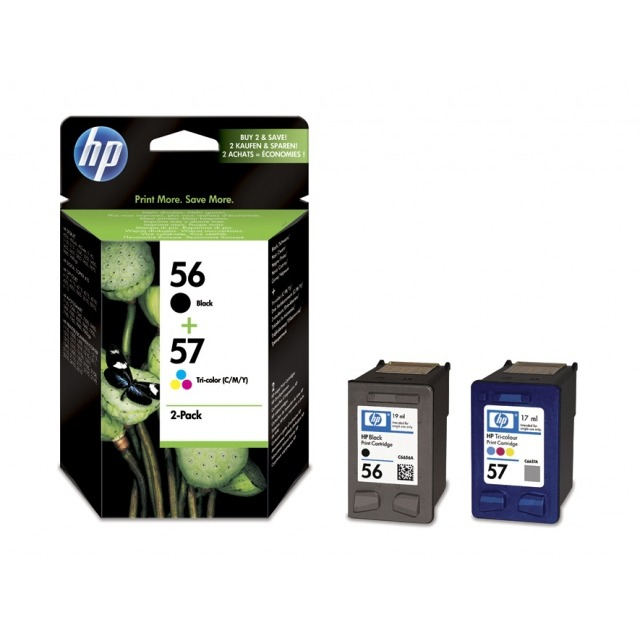 HP Inktpatronenset »HP SA342AE « 56 / 57