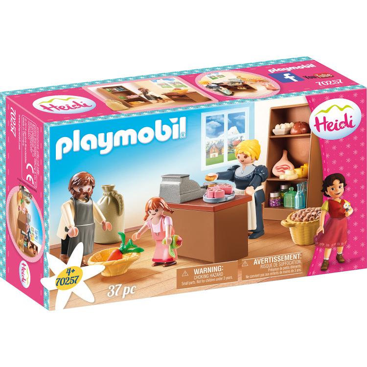 PLAYMOBIL Heidi - Buurtwinkel van de Kellers 70257