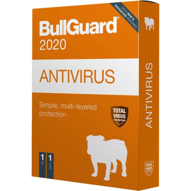 BullGuard Antivirus 2020 Editie software 1 jaar, 1 apparaat