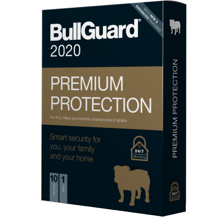 BullGuard Premium Protection 2020 Editie software 1 jaar, 10 apparaten