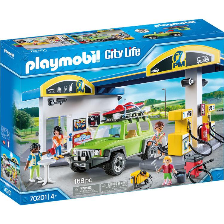 PLAYMOBIL City Life - Tankstation 70201