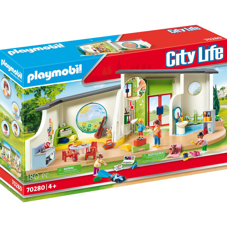 PLAYMOBIL City Life - Kinderdagverblijf De Regenboog 70280