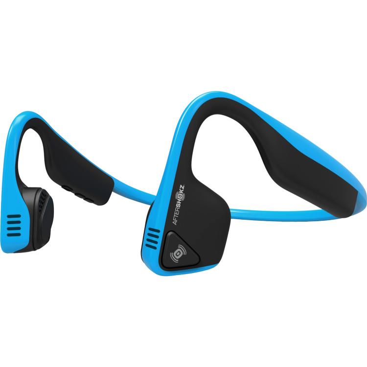 Aftershokz Trekz Titanium Ocean Blue headset Bluetooth v4.1