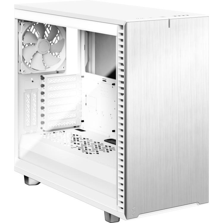 Fractal Design Define 7 White TG Clear Tint tower behuizing USB C, Window Kit