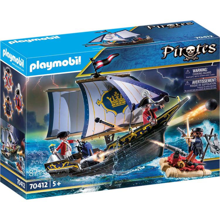 Alternate-PLAYMOBIL Pirates - Zeilschip van de soldaten 70412-aanbieding