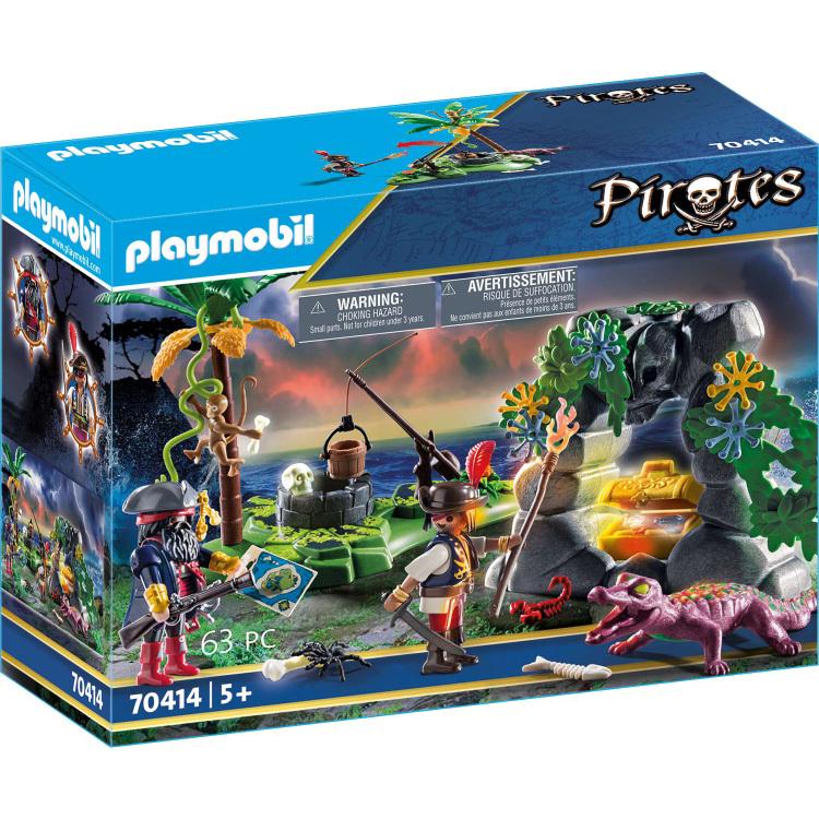 Alternate-PLAYMOBIL Pirates - Piraten op schattenjacht 70414-aanbieding