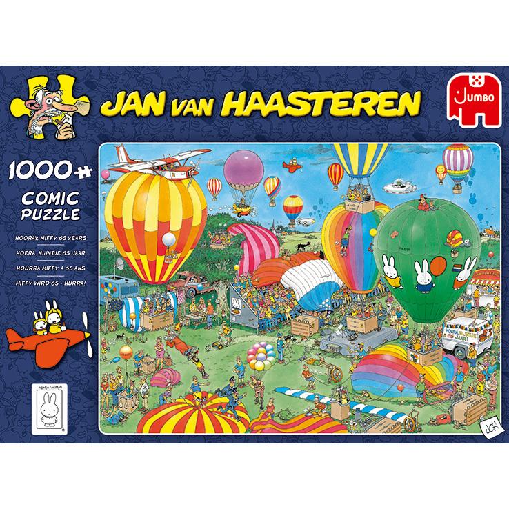 Alternate-Jumbo Jan van Haasteren - Hoera, Nijntje 65 jaar puzzel 1000 stukjes-aanbieding