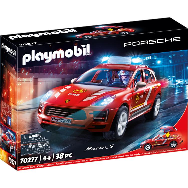 PLAYMOBIL City Action - Porsche Macan S Brandweer 70277