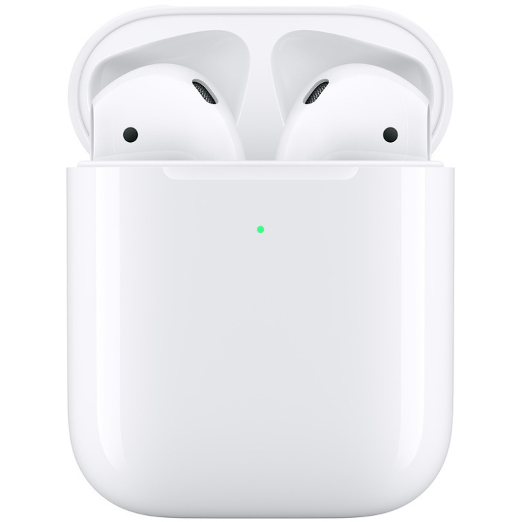 Apple AirPods 2.Gen headset Met inductieve laadkoffer
