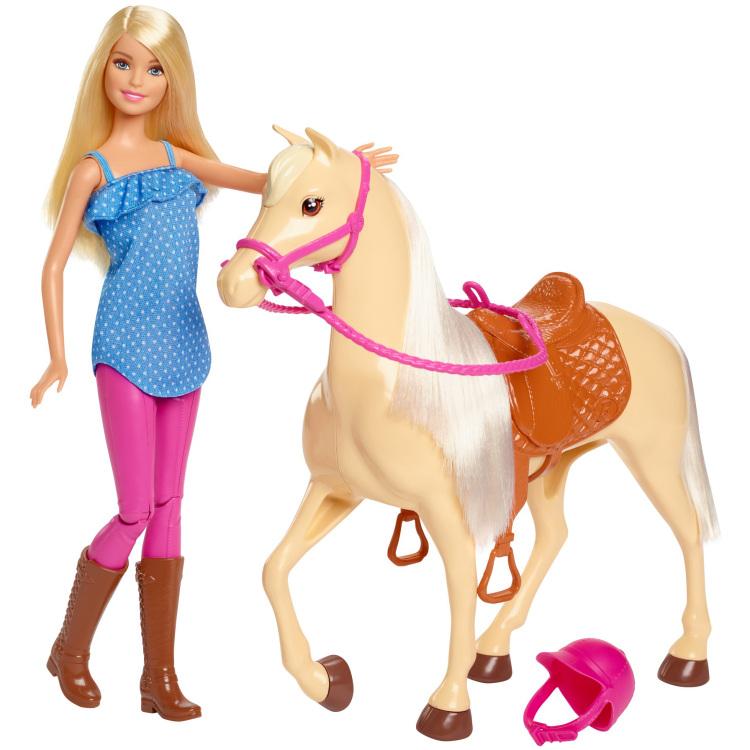 Mattel Paard en pop