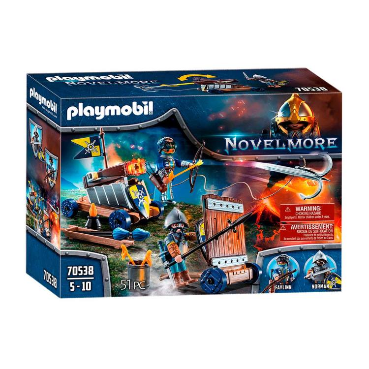 PLAYMOBIL Novelmore - Aanvalsgroep 70538