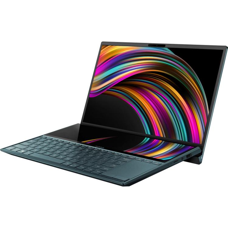 "ASUS Zenbook Duo UX481FL-HJ106T, 14"" laptop 512 GB SSD, BT, WLAN, Touch, Win 10"