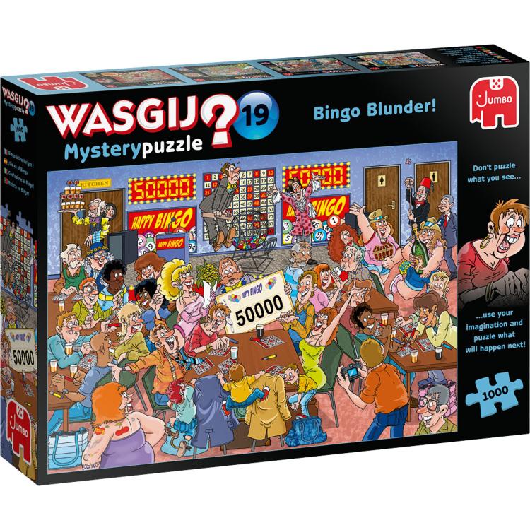 Alternate-Jumbo Wasgij? Mystery 19 - Bingobedrog! puzzel 1000 stukjes-aanbieding