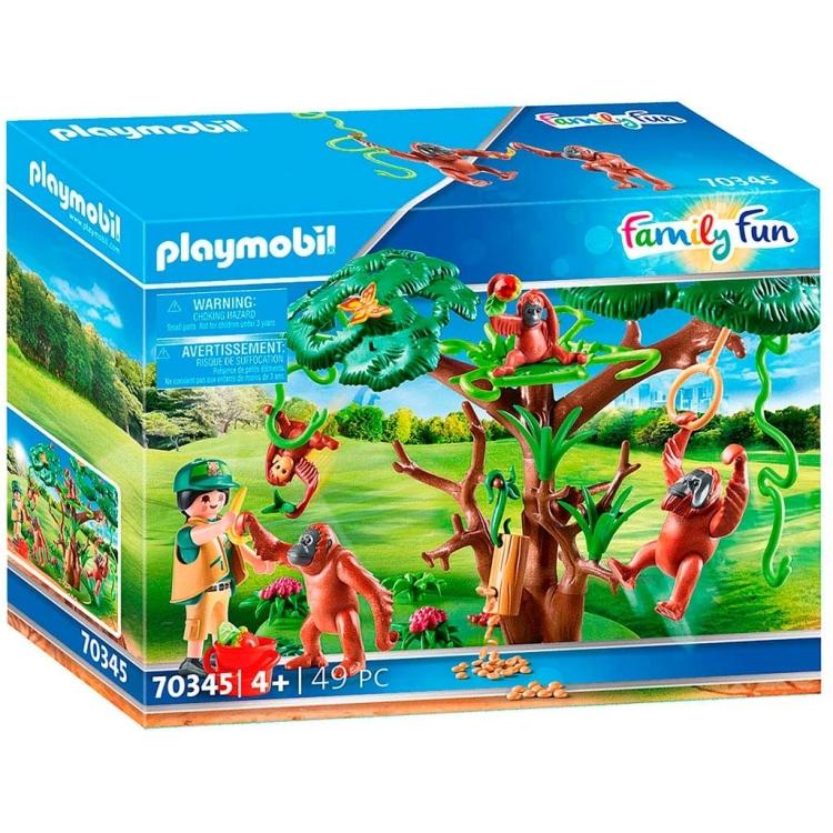 Alternate-PLAYMOBIL Family Fun - Oerang-Oetans in de boom 70345-aanbieding