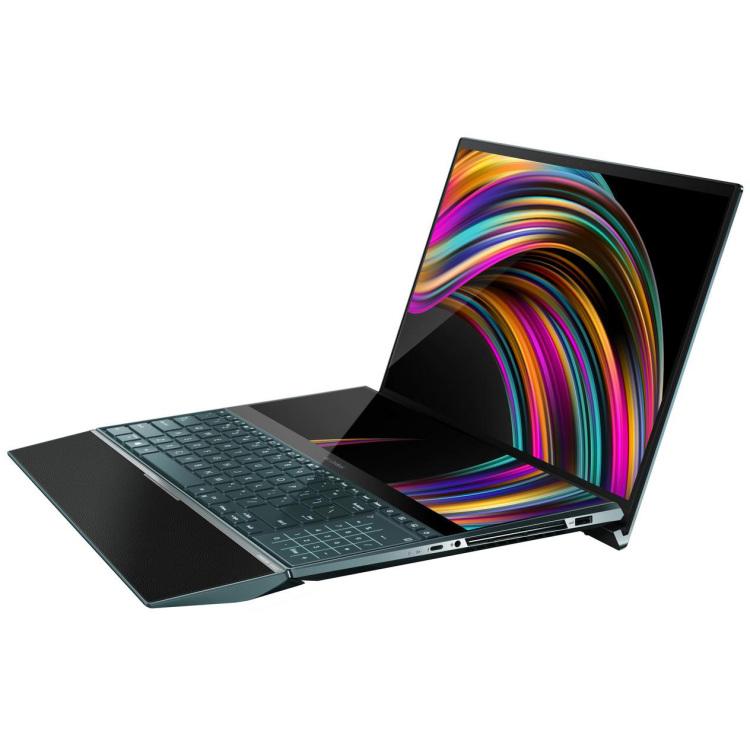 "ASUS ZenBook Pro Duo 15 UX581LV-H2025T, 15.6"" laptop 1TB SSD, RTX 2060, 4K UHD, WLAN, Touch, Win 10"