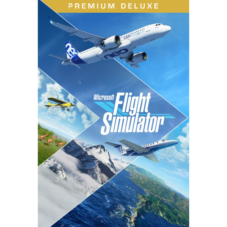 Microsoft Flight Simulator 2020 Premium Deluxe PC software