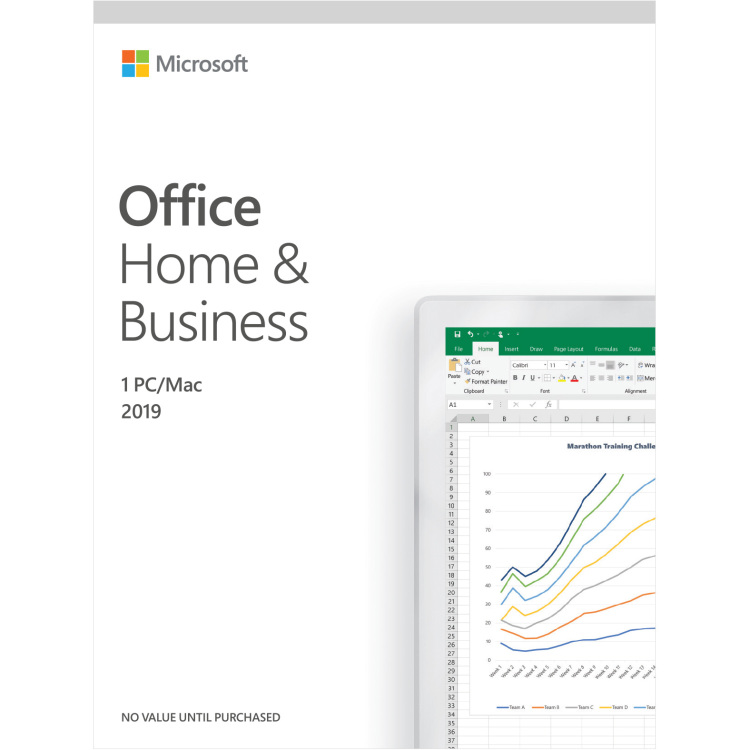 Microsoft Office Home & Business 2019 software Engels