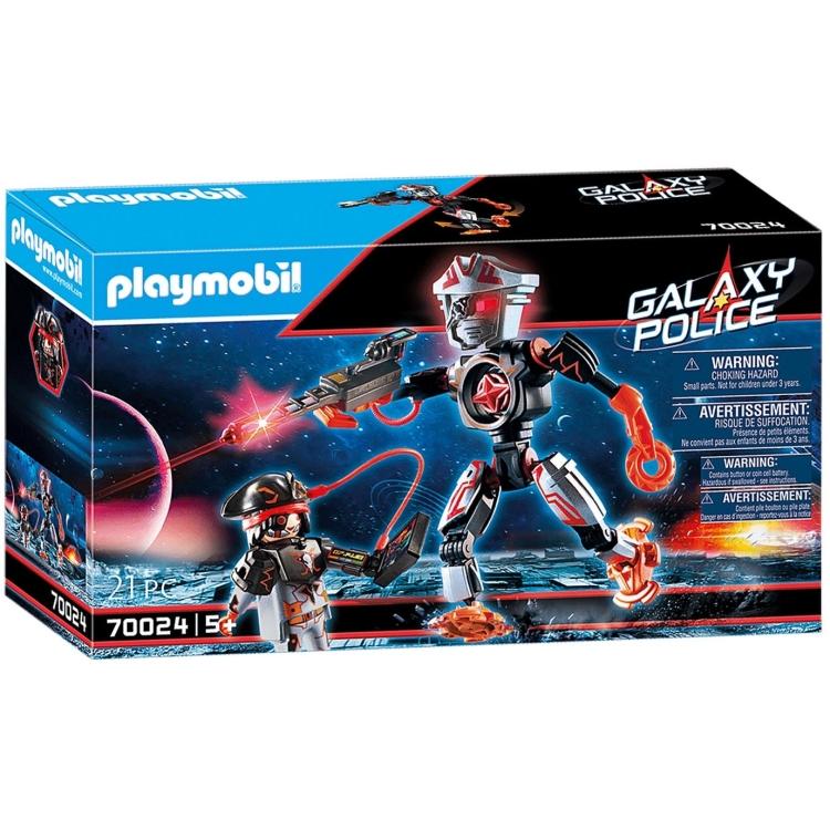 PLAYMOBIL Galaxy Police - Galaxy piratenrobot 70024