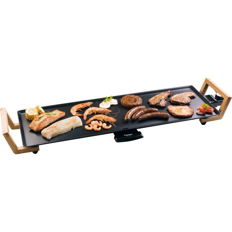 Bestron ABP603BB Teppanyaki Grillplaat XL elektrische bakplaat