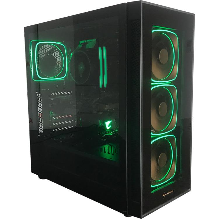 ALTERNATE Thunderstorm AMD SE R7 3700X gaming pc 16 GB, RTX 2070, Gb-LAN, Win 10