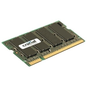 Image of Crucial 2 GB SODIMM DDR2-667