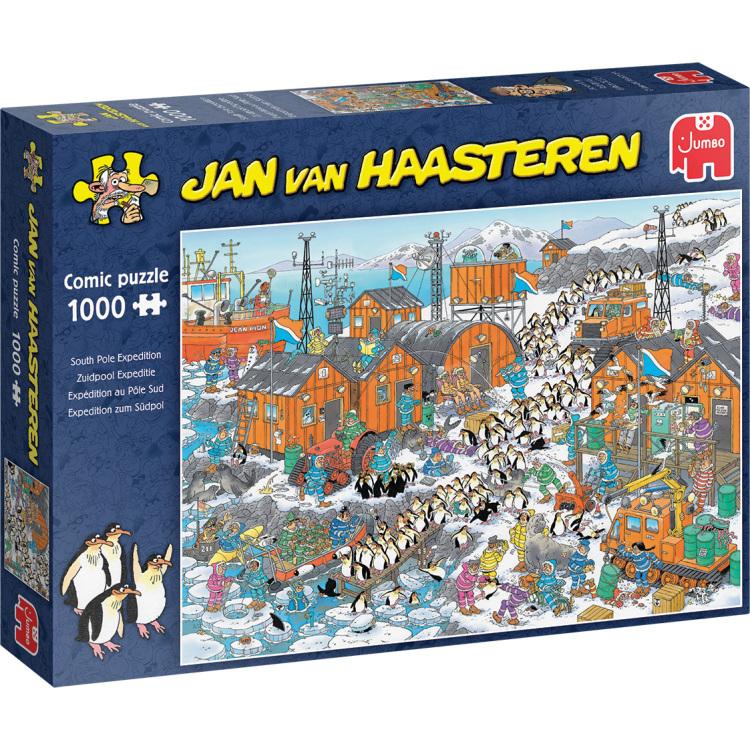Alternate-Jumbo Jan van Haasteren - Zuidpool Expeditie puzzel 1000 stukjes-aanbieding