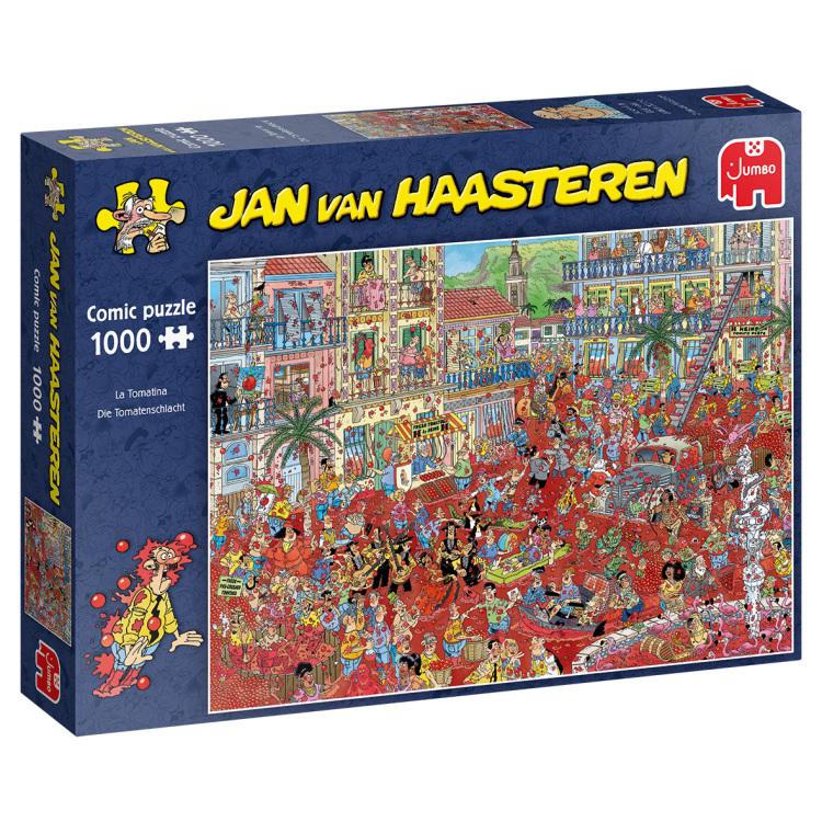 Alternate-Jumbo Jan van Haasteren - La Tomatina puzzel 1000 stukjes-aanbieding