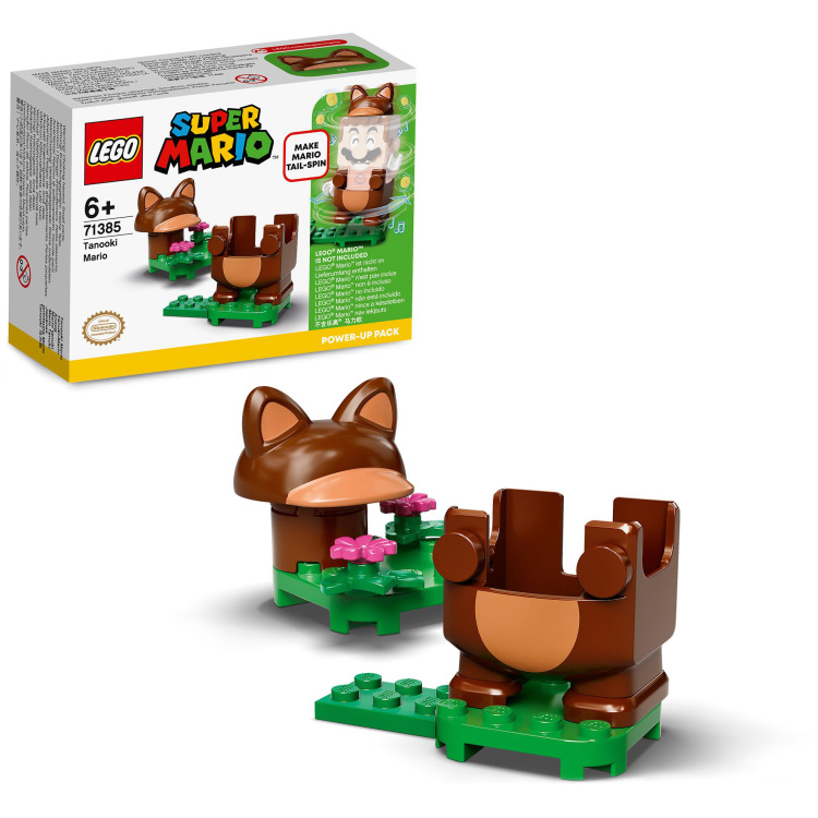 Alternate-LEGO Super Mario - Power-uppakket: Tanuki-Mario 71385-aanbieding