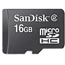 Sandisk 16GB Micro SDHC Geheugenkaart