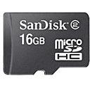 Sandisk 16GB Micro SDHC Geheugenkaart
