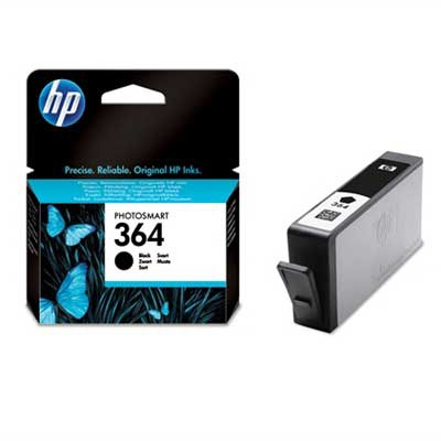 Image of 364 zwarte inktcartridge