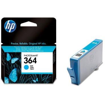 HP 364 - Inktcartridge / Cyaan