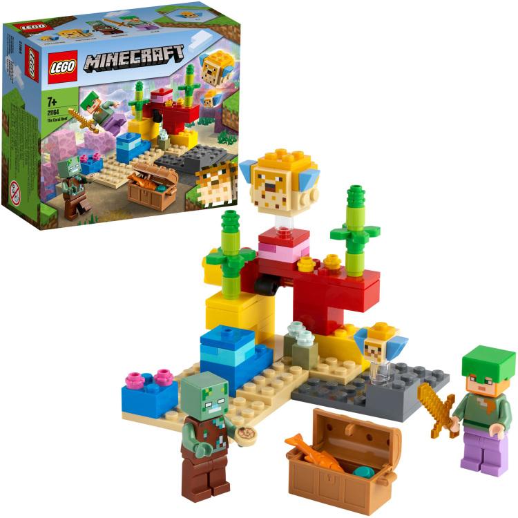 Alternate-LEGO Minecraft - Het koraalrif 21164-aanbieding