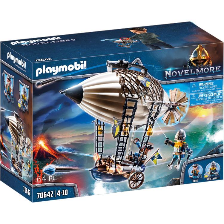 Alternate-PLAYMOBIL Novelmore - Novelmore Dario's Zeppelin 70642-aanbieding