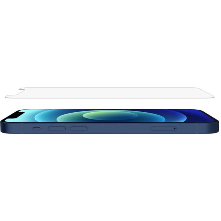 Belkin Screenforce UltraGlass antimicrobiële screenprotector voor iPhone 12 / iPhone 12 Pro beschermfolie