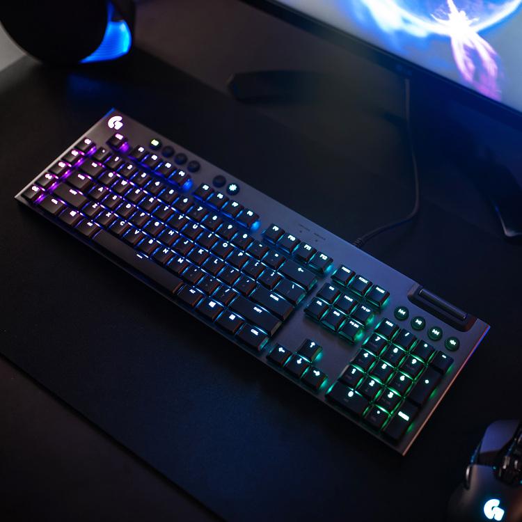 Alternate-Logitech G815 LIGHTSYNC RGB Mechanical Gaming Keyboard GL Tactile, RGB led verlicht-aanbieding