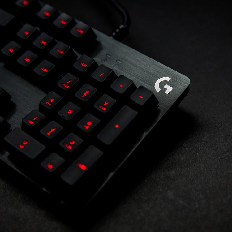 Alternate-Logitech G413 Carbon Mechanical Gaming Keyboard Romer-G, US lay-out, Rode leds-aanbieding