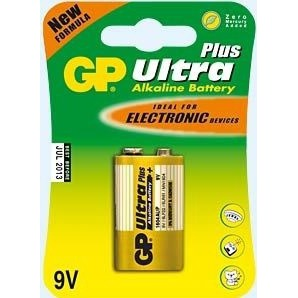 GP Batteries Ultra Plus Alkaline 9V