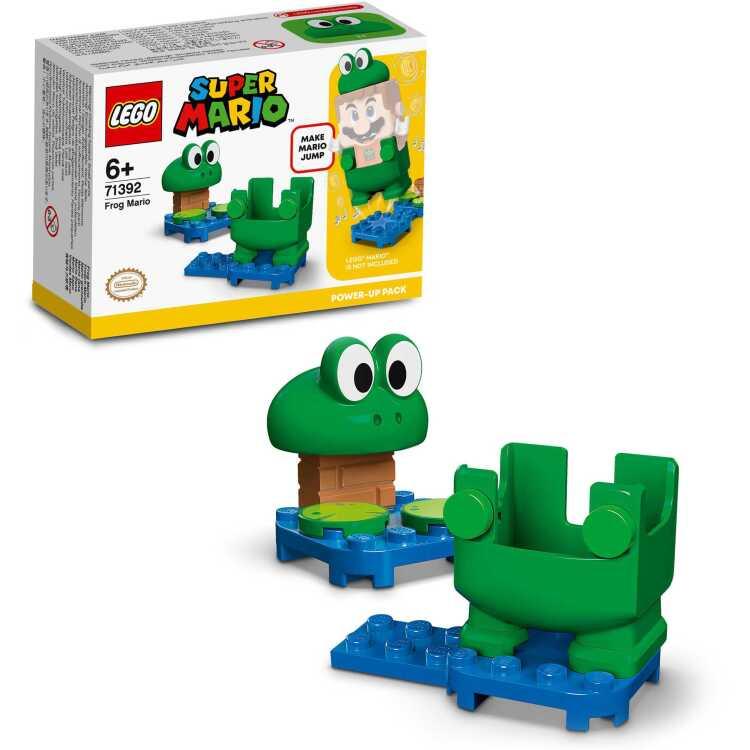 Alternate-LEGO Super Mario - Power-uppakket: Kikker-Mario 71392-aanbieding