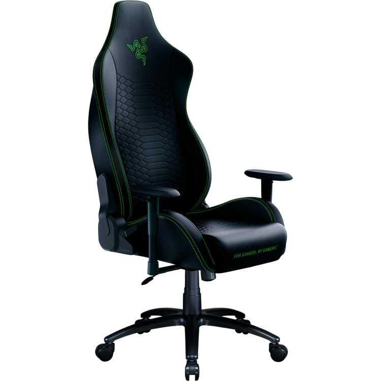 Razer Iskur X Gaming Chair bk/gn gamestoel
