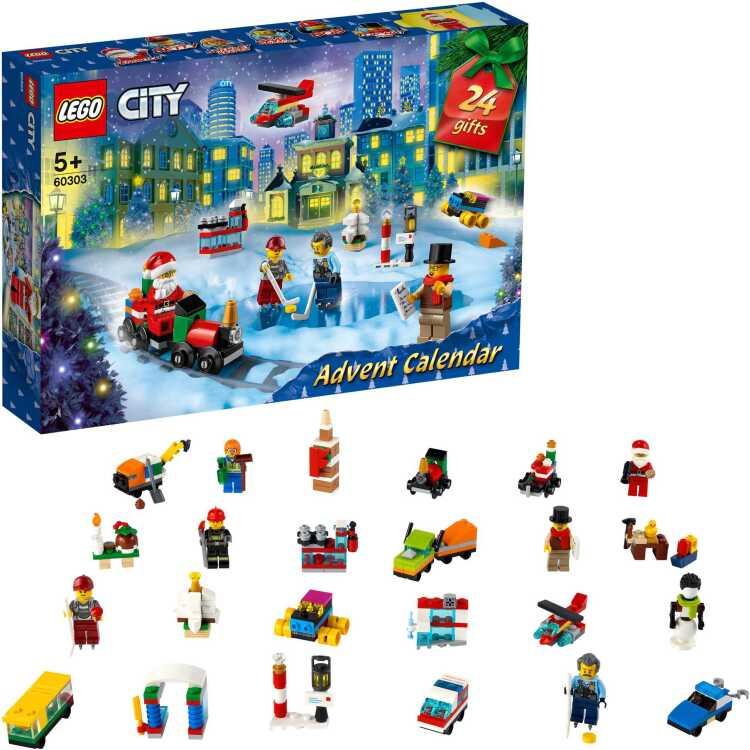 Alternate-LEGO City - City adventskalender 60303-aanbieding