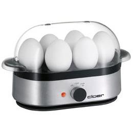 Image of 6099 alu matt - Egg boiler for 6 eggs 400W 6099 alu matt