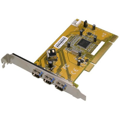Image of Dawicontrol DC-1394 PCI FireWire Controller