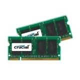 Crucial 4 GB SODIMM DDR2-800 Kit van 2