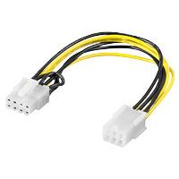 Adapter 6-Polig PCIe > 8-Polig PCIe
