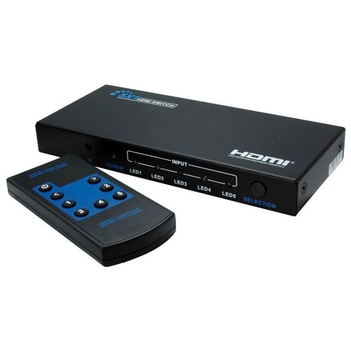 NewStar HDMI switch 4-Port. remote (1920x1200)