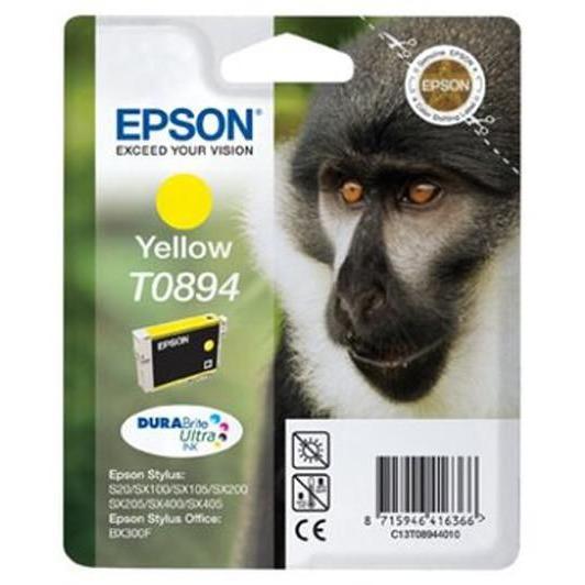 Inkcartridge Epson T089440 geel